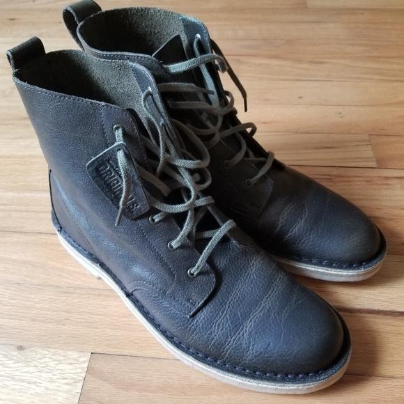 cbdee7c9d7f Clarks Originals Desert Mali Leather Chukka Boots NWT